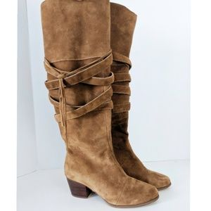 Sole Society | Antoinette Suede Tall Shaft Boots